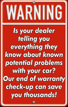 Agape-Auto-End-Of-Warranty-Checkup