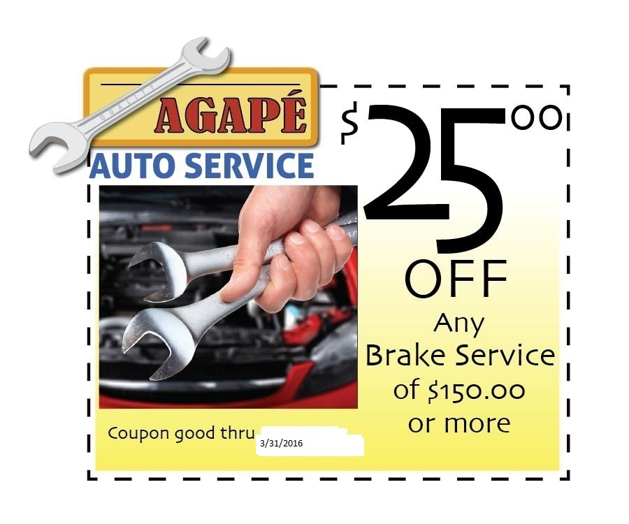 Car Brake Repair Service: $25 Off Any Brake Service
