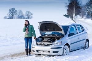 bigstock-Winter-Car-Breakdown-Woman-C-11607581