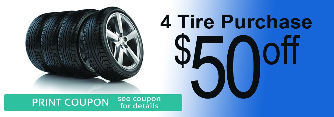 Tire Sale Coupon